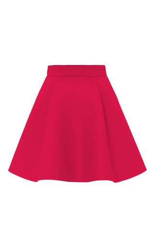 Medium marina hoermanseder fuchsia nora a line mini skirt