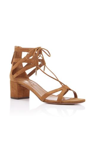 Medium aquazzura brown beverly hills 50 sandals