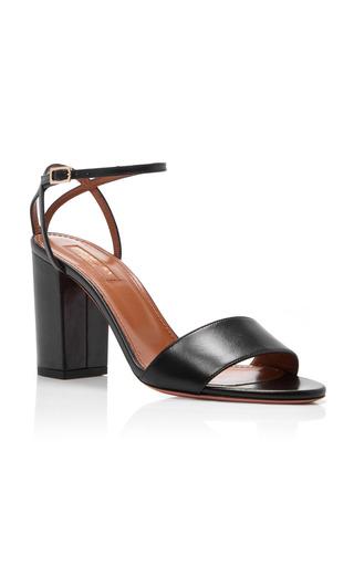 Medium aquazzura black nappa tahiti sandals