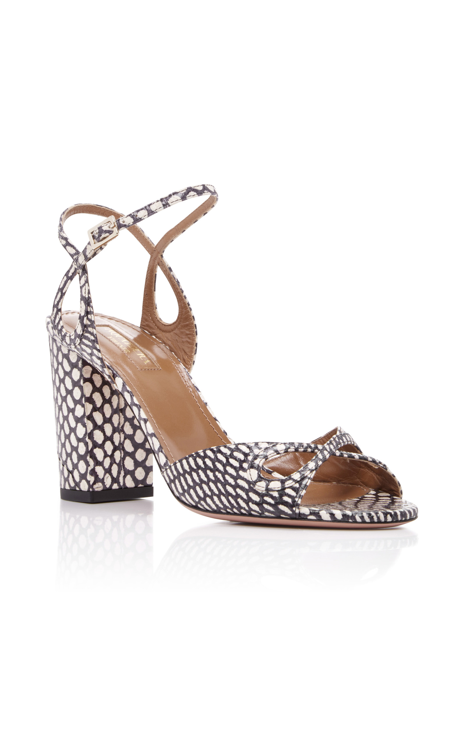 4d18fdf77dd71c Snake Vera Sandals by Aquazzura