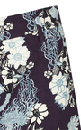 Purple Galaxy Bloom Shorts by DOROTHEE SCHUMACHER for Preorder on Moda Operandi