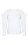 Visionary Voyage Keyhole Shirt by DOROTHEE SCHUMACHER for Preorder on Moda Operandi