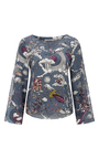 Fantastic Journey Printed Blouse by DOROTHEE SCHUMACHER for Preorder on Moda Operandi