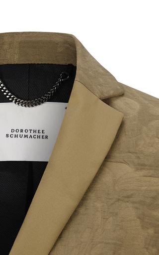 Unexpected Grounds Blazer by DOROTHEE SCHUMACHER for Preorder on Moda Operandi