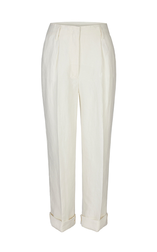 Natural Flow Pleated Pants by DOROTHEE SCHUMACHER for Preorder on Moda Operandi