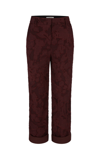 Medium dorothee schumacher red plum delicate fantasy pant