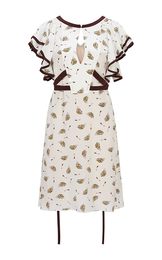 Medium dorothee schumacher print cosmic fantasy flutter dress