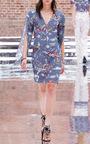 Fantastic Journey Split Sleeve Dress by DOROTHEE SCHUMACHER for Preorder on Moda Operandi