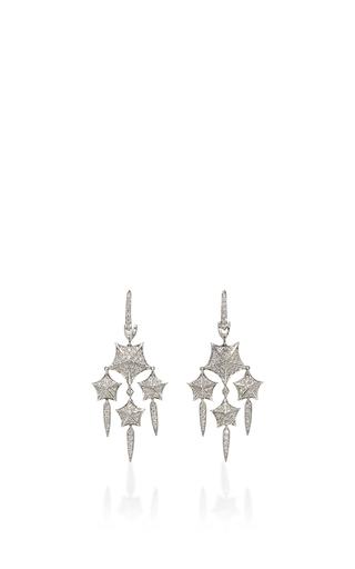 Medium stephen webster silver stargazer earrings