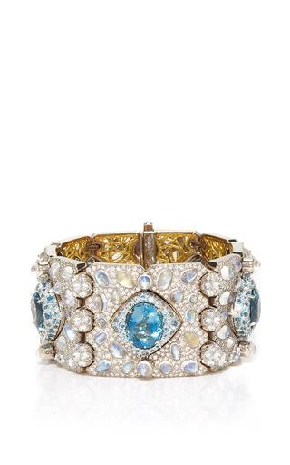 Medium nicholas varney blue ventoux gem bracelet cuff