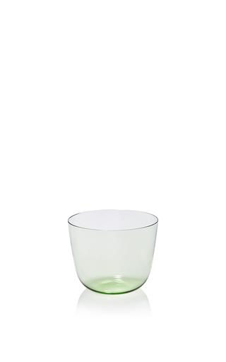 Medium lobmeyr green light green water tumbler