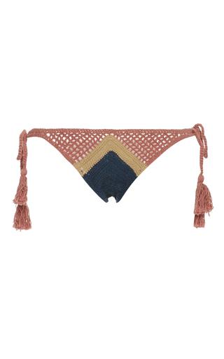 Medium all that remains multi sugar crochet bikini bottom