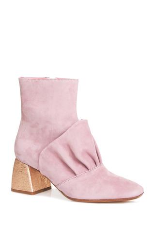 Medium beau coops x romance was born pink adalene leather bootie