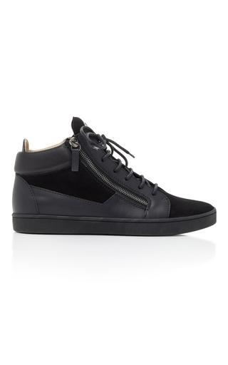 Medium giuseppe zanotti black nero breck sneaker