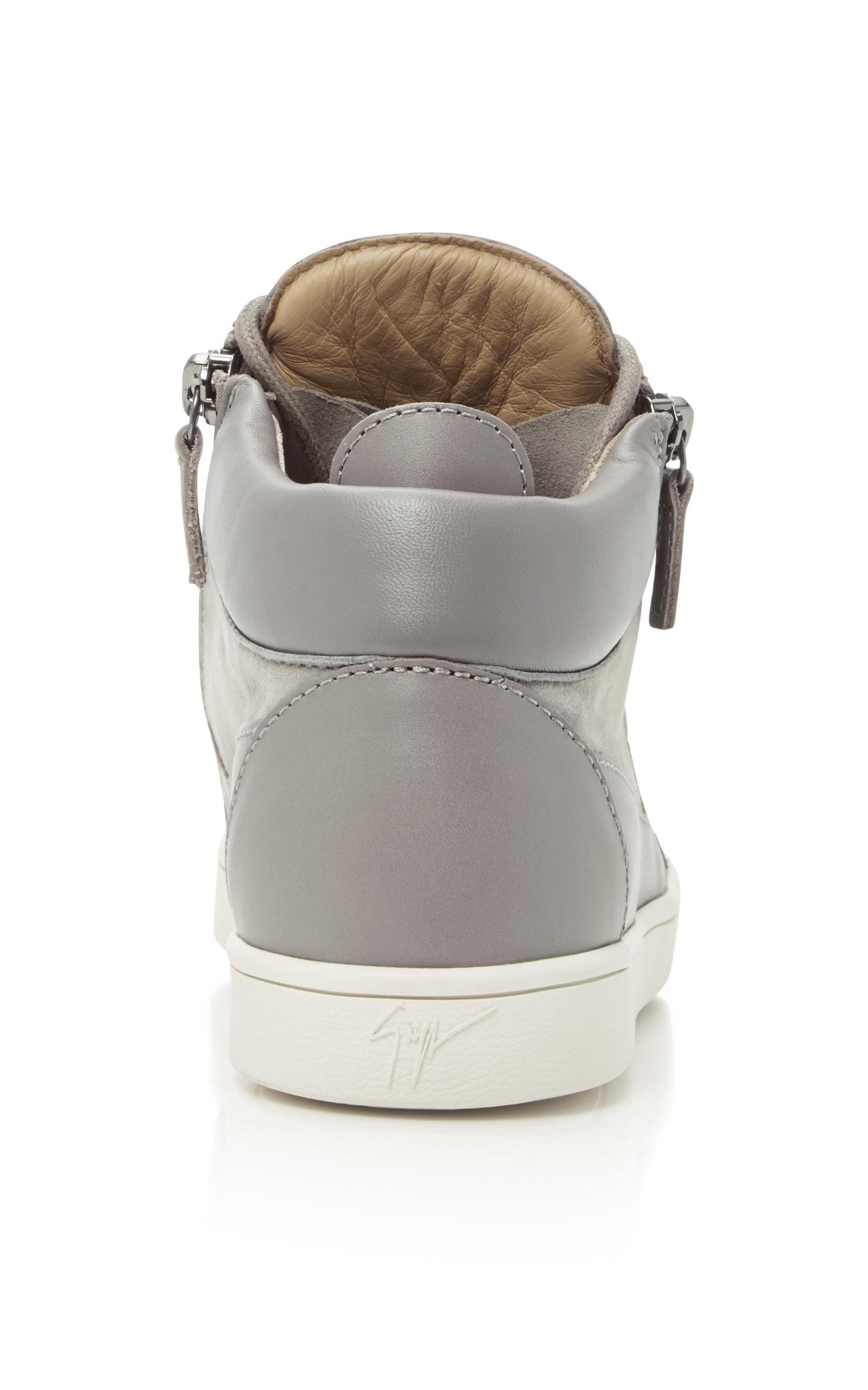 5c220bdb170a Giuseppe ZanottiSloane Suede and Leather Sneakers. CLOSE. Loading. Loading.  Loading. Loading