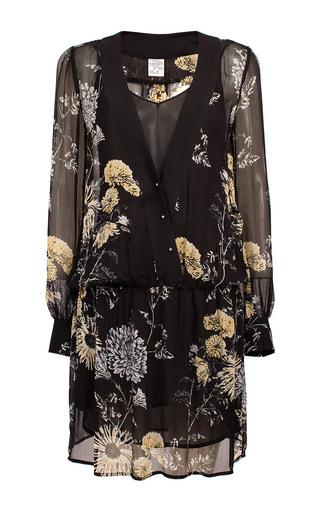 Medium baum und pferdgarten print anzu dandelion dress