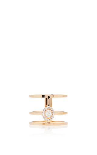 Medium messika silver glam azone diamond ring 2