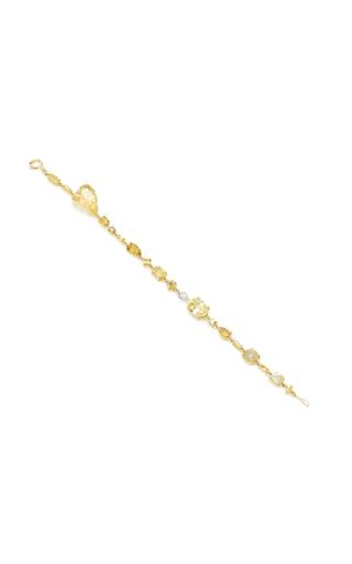 Medium sharon khazzam yellow baby diamond bracelet 3