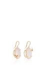 Rose Quartz Bee Earrings by SHARON KHAZZAM Now Available on Moda Operandi
