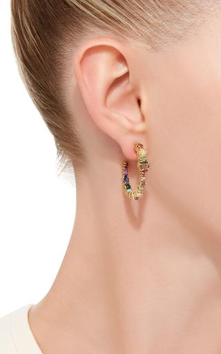 Baby Hoop Earrings by SHARON KHAZZAM Now Available on Moda Operandi