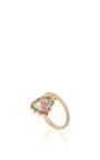 Watermelon Tourmaline Shimmee® Ring by SHARON KHAZZAM Now Available on Moda Operandi