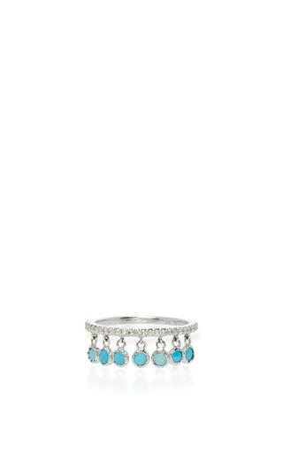 Medium sharon khazzam turquoise turquoise shimmee ring