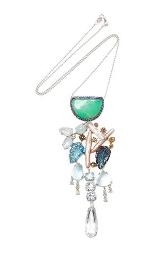 Medium sharon khazzam multi montijo necklace