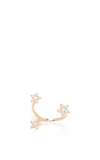 Medium stefere rose gold 18k rose gold stars ring