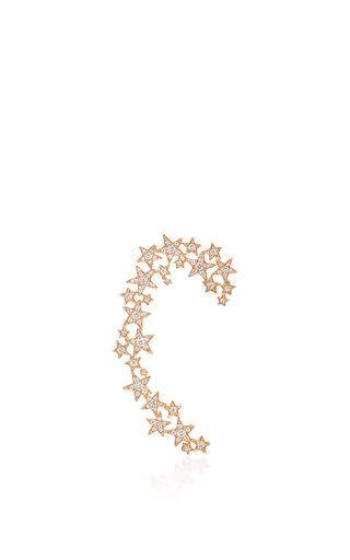 Medium stefere rose gold 18k pink gold stars earcuff