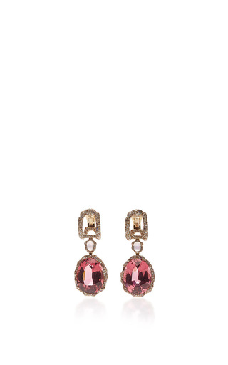 Medium faberge red katharina earrings