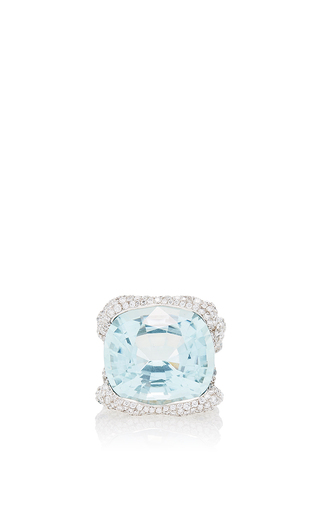Medium faberge blue katharina aqua ring