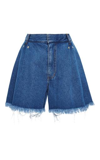 Medium ksenia schnaider dark wash high waisted dark wash denim shorts