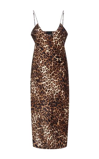Medium nili lotan print short leopard cami dress