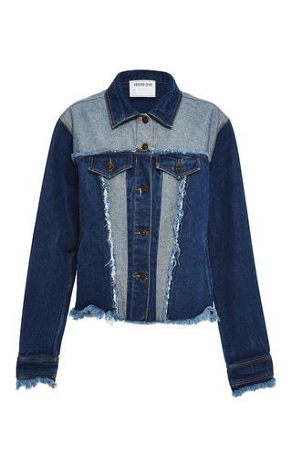 Medium ground zero multi patchwork denim jacket