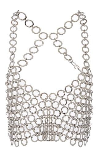 Medium fannie schiavoni silver ring top