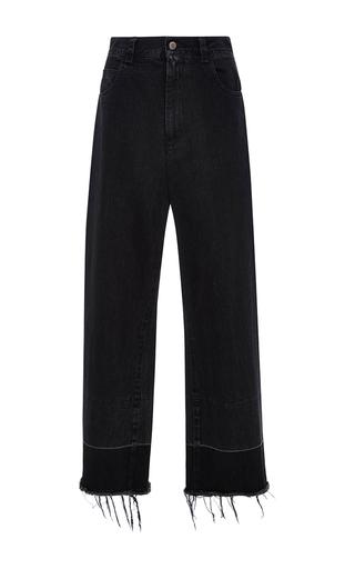 Medium rachel comey black wide legged legion trousers 2
