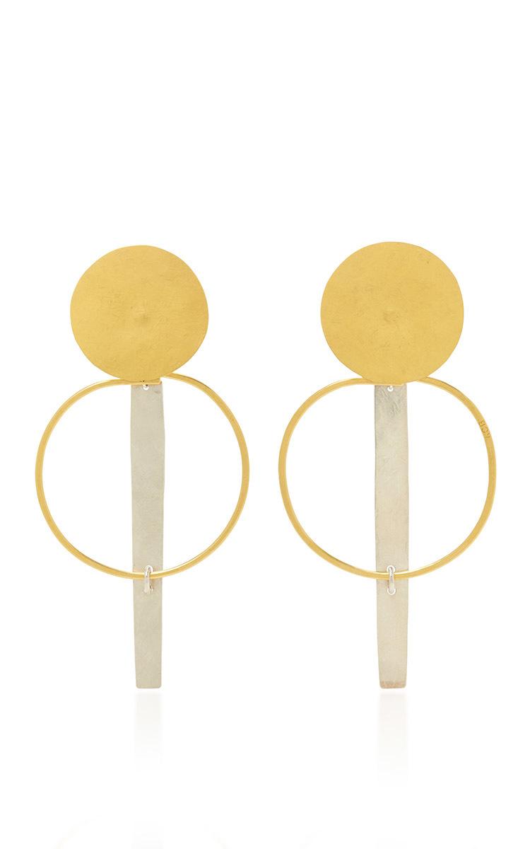 Krikoi earrings Annie Costello Brown 4PVH3o