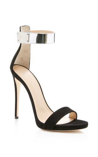 Medium giuseppe zanotti black alien sandal