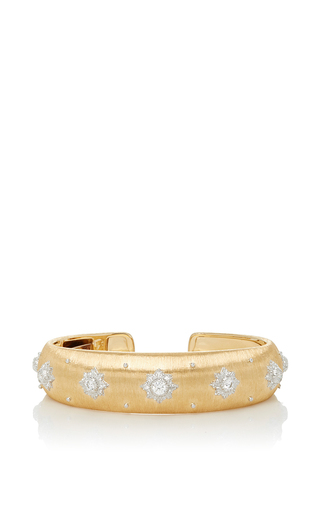 Medium buccellati gold macri cuff bracelet 2