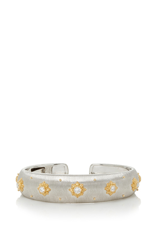 Medium buccellati silver macri cuff bracelet
