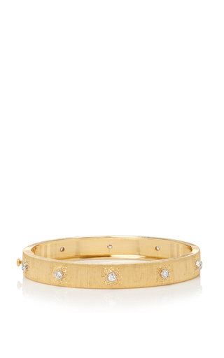 Medium buccellati gold classica macri bangle bracelet