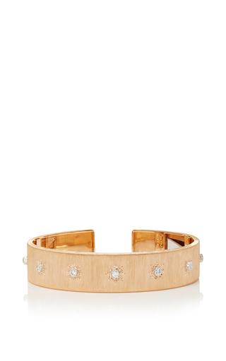 Medium buccellati gold classica macri cuff bracelet
