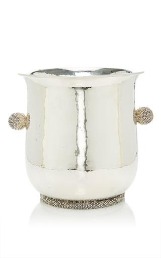 Medium buccellati silver caviar champagne holder