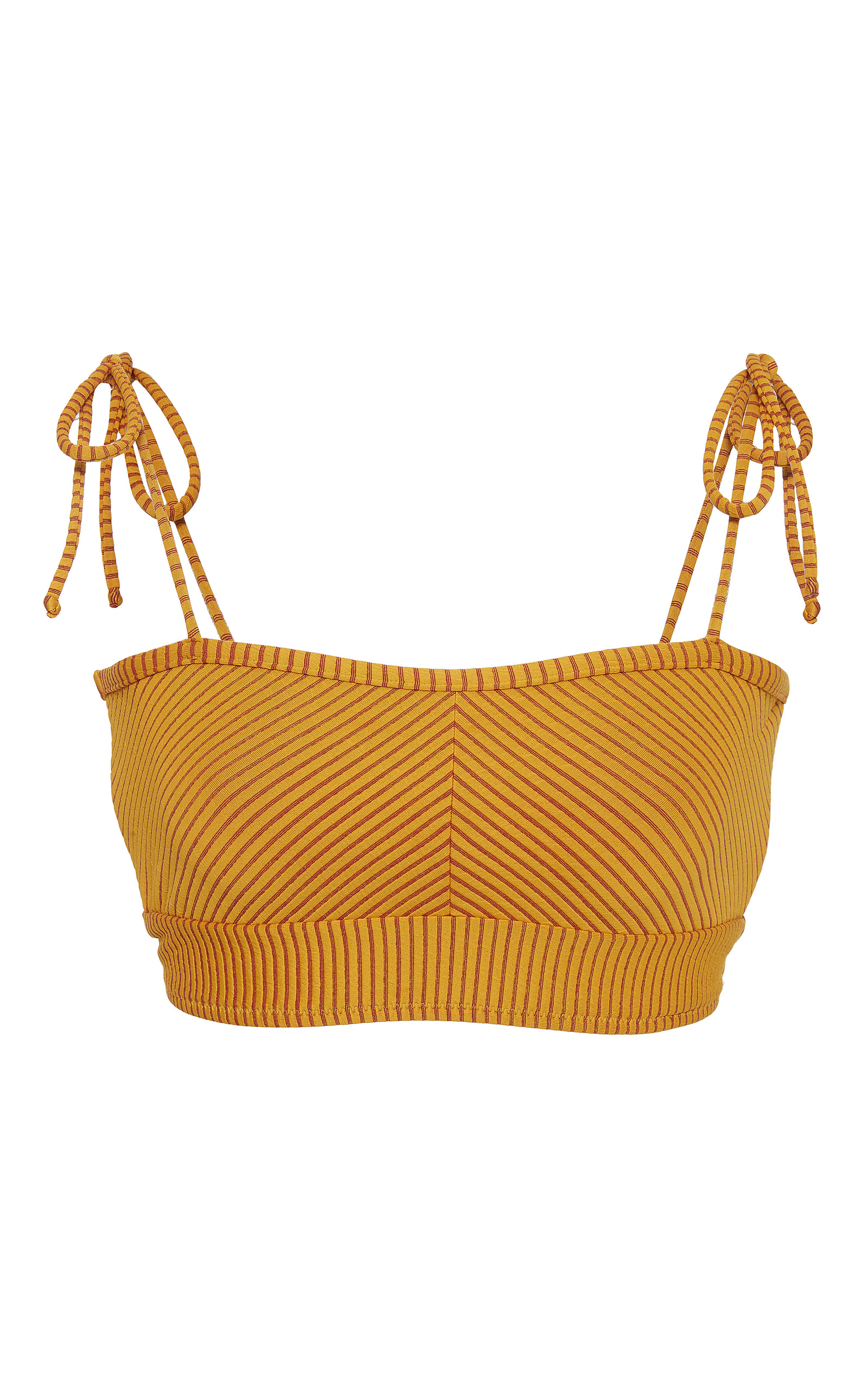 Factory Price Discount Footlocker Zuma Ruffled Halterneck Bikini Top - White Marysia Swim Outlet ar4AZnV