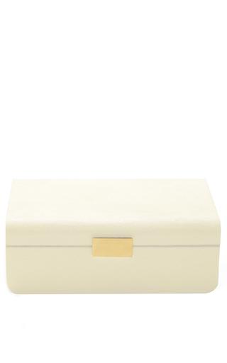 Medium aerin ivory large modern shagreen jewelry box