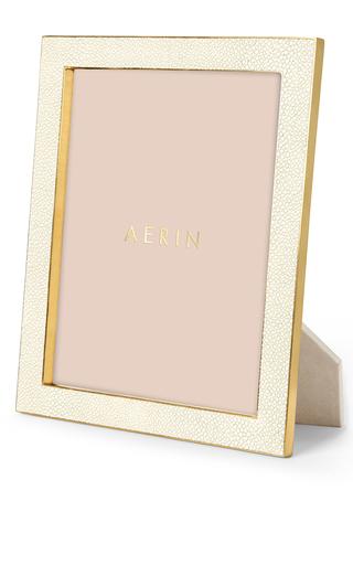 Medium aerin ivory classic shagreen frame 5 x 7