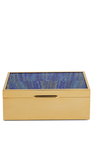 Medium aerin royal blue large lapis lazuli box