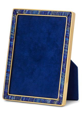 Medium aerin royal blue lapis lazuli frame 5 x 7