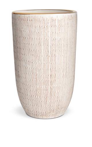 Medium aerin white amelie vase