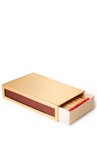 Medium aerin gold oversized match sleeve